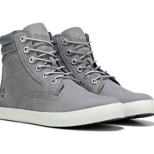 Timberland Sz 10 Gray Sneaker Boot